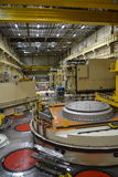 Зала ядерного реактора в электростанции Стоковые Фотографии RF