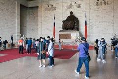 Зала Chiang kai-shek мемориальная в Тайбэй, Тайвани Стоковые Изображения RF