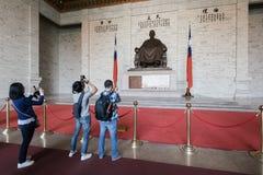 Зала Chiang kai-shek мемориальная в Тайбэй, Тайвани Стоковое Изображение