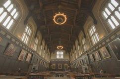 зала hutchinson общая на Чикагском университете Иллинойсе Стоковая Фотография RF