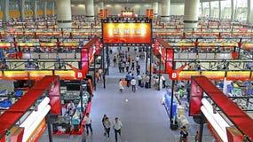 зала 1 118th кантона справедливая 1 машинное оборудование, Гуанчжоу, фарфор Стоковые Фото