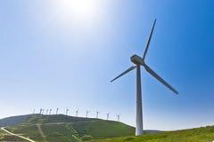 за больше ветра турбины Стоковое Изображение
