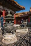Задворк дворца Пекина имперская Стоковое Фото