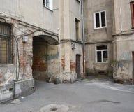 Задворк трущобы Стоковая Фотография