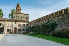 Задворк - Castelo di Roncada Стоковые Фотографии RF