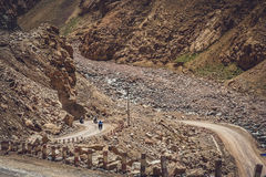 Задействовать в западном Тибете Стоковые Фотографии RF