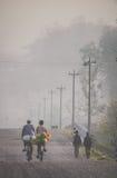 Задействовать в тумане Стоковые Изображения RF