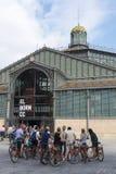 Задействуя группа путешествия, Барселона стоковое изображение rf