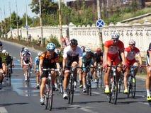 Задействуя конкуренция в Бухаресте Стоковое фото RF