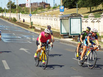 Задействуя конкуренция в Бухаресте Стоковое Изображение