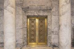 Зал заседаний сената капитолия штата Вашингтона Стоковые Фото