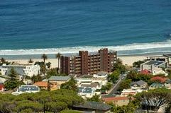 Залив лагерей, Атлантический океан, Кейптаун Стоковое фото RF