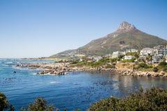 Залив лагерей - Южная Африка Стоковое Изображение RF