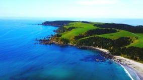 Залив анкера, Новая Зеландия Стоковая Фотография