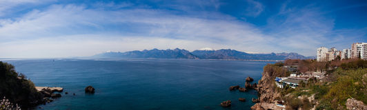 Залив Антальи, Турция Стоковая Фотография RF