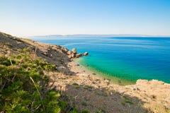 Залив бирюзы Стоковые Фото