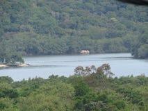 Залив в dos Reis - Бразилии Angra - ландшафт Стоковое Фото