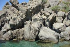 Залив гравия стоковое фото