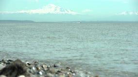 Залив границы, хлебопек держателя, штат Вашингтон 4k UHD сток-видео