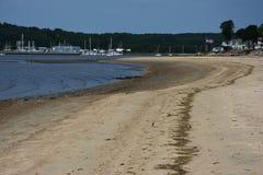 Залив Гринвича, пляж Стоковые Фотографии RF