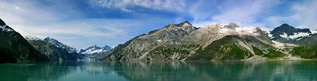 Залив ледника Аляска Стоковая Фотография
