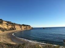 Залив и скалы Стоковая Фотография