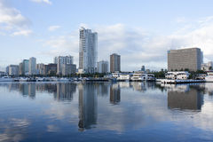 Залив Манилы Стоковое фото RF