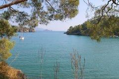 Залив моих мечт в среднеземноморском Стоковая Фотография RF