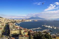 Залив Неаполь Стоковая Фотография RF