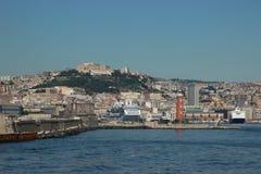Залив Неаполь Стоковые Изображения RF