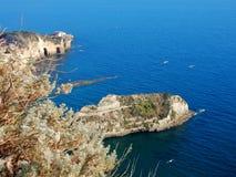 Залив Неаполя - Trentaremi Стоковое Изображение
