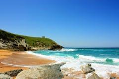 Залив океана в Испании Стоковые Фотографии RF