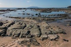 Залив Омахи во время отлива Стоковая Фотография RF