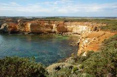 Залив дорога островов, большая океана, Австралия. стоковое изображение