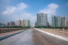 Залив острова залива бобра дороги любовников Zhuhai Xiangzhou одичалый Стоковые Изображения