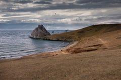 Залив песка Стоковая Фотография