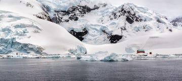 Залив рая, Антарктика Стоковая Фотография RF