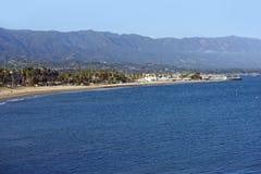 Залив Санта-Барбара стоковое изображение