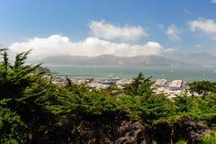 Залив Сан Fransisco Стоковое Изображение