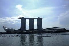 Залив Сингапур Марины Стоковое фото RF