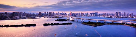 Залив токио Стоковое Фото