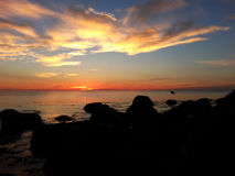 Залив трески накидки от Gurnet Стоковая Фотография