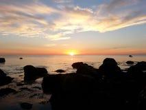 Залив трески накидки от Gurnet Стоковые Изображения RF