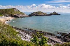 Залив Уэльс Великобритания браслета Стоковое Изображение RF
