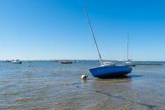 Залив Arcachon, Франция, взгляд над дюной Pyla Стоковые Фото