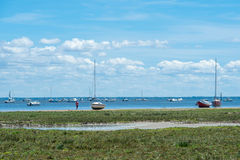 Залив Arcachon, Франция стоковое фото