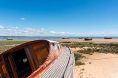 Залив Arcachon, Франция стоковые изображения rf