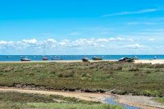 Залив Arcachon, Франция Стоковое Изображение
