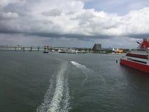 Залив Biscayne, Майами, Флорида Стоковое фото RF