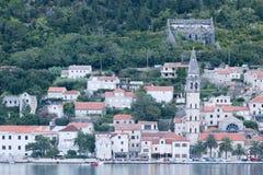 Залив Bocka, Kotor - Черногория Стоковая Фотография